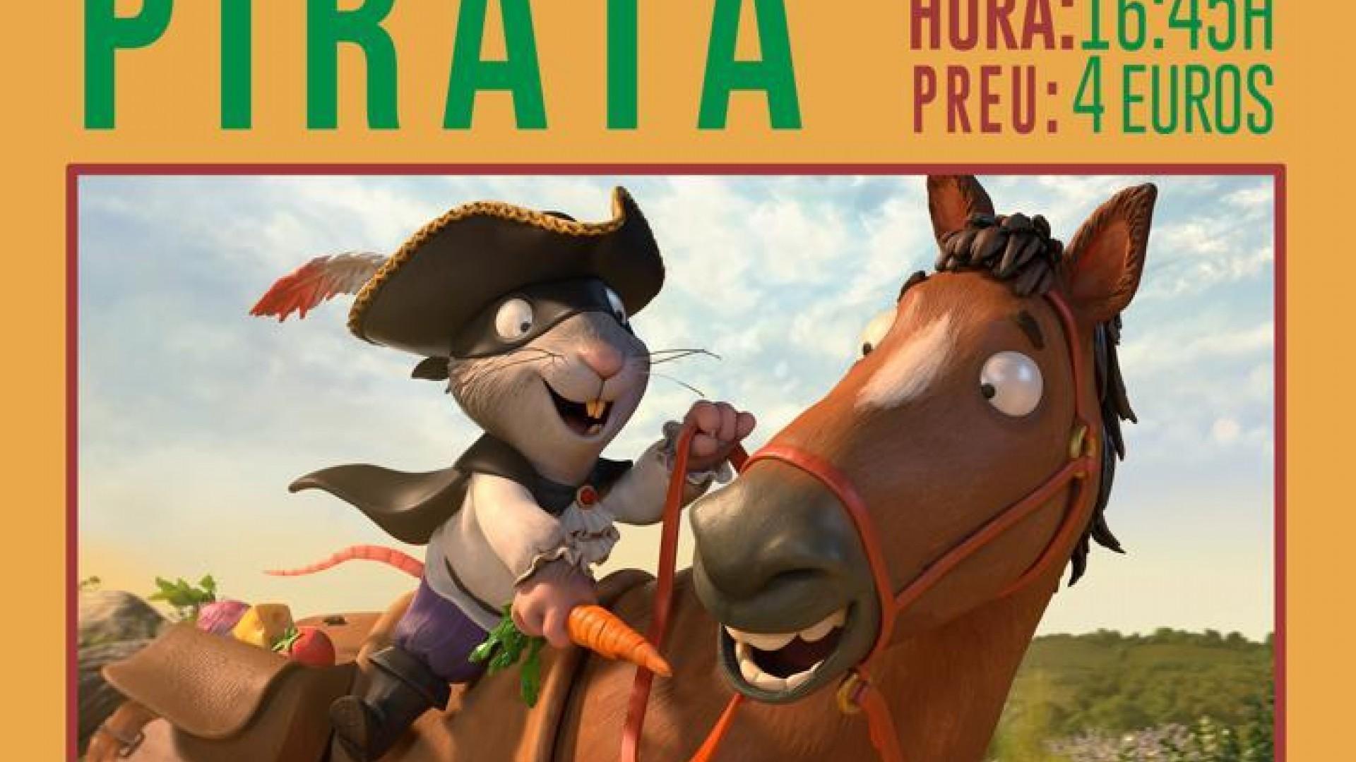 CineCiutat Nins: La rata pirata