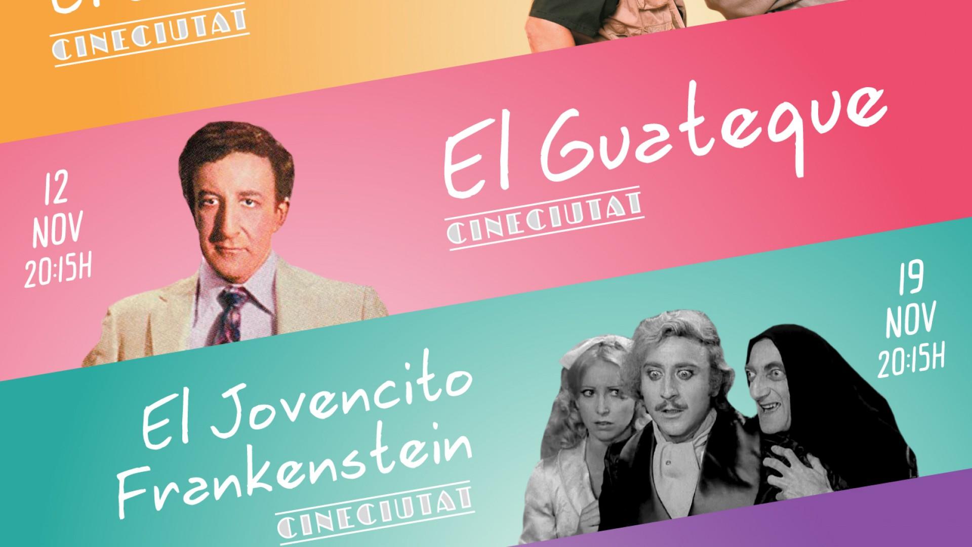 CineCiutat y Fesjajá, 4 comedias de lujo.
