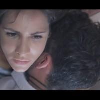 """Proyección del cortometraje """"Mamá""""."""