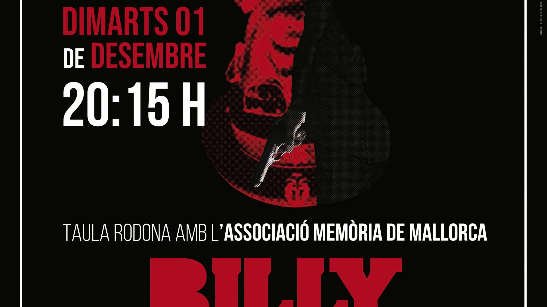 Proyección + coloquio: Billy