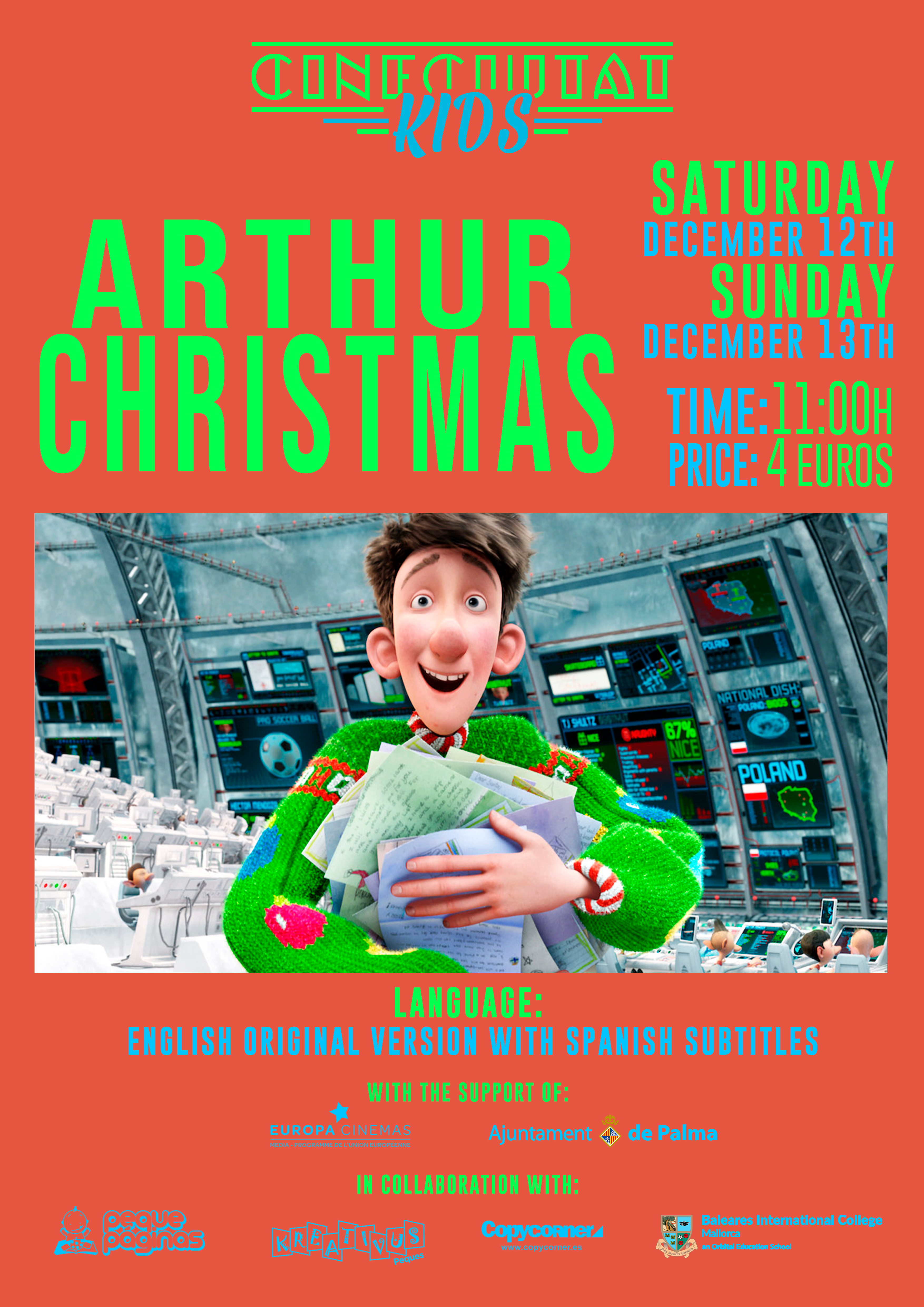 CineCiutatKids: Arthur Christmas