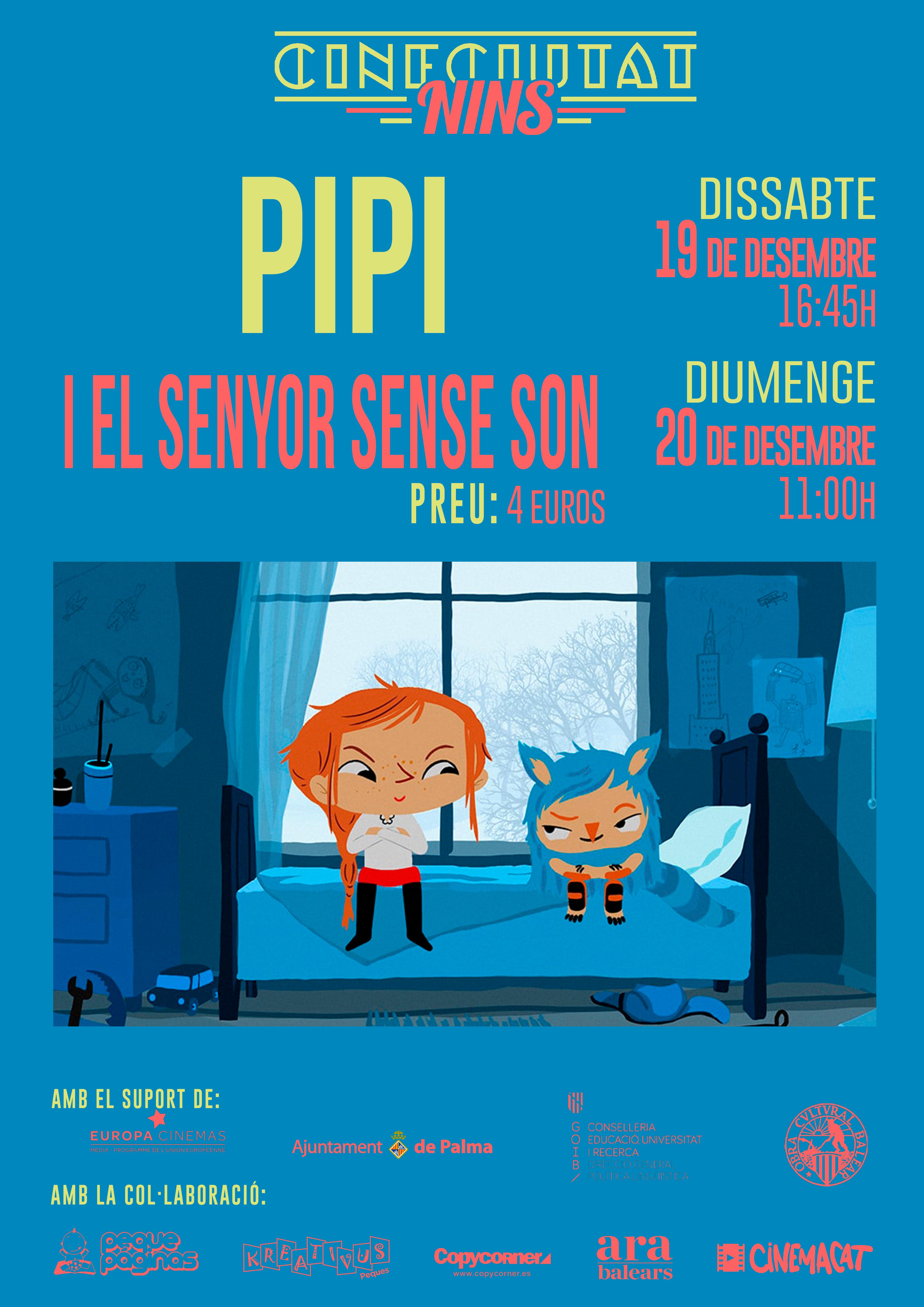 CineCiutatNins: Pippi i el senyor sense son