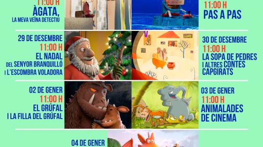CineCiutatNins: Projeccions de Nadal
