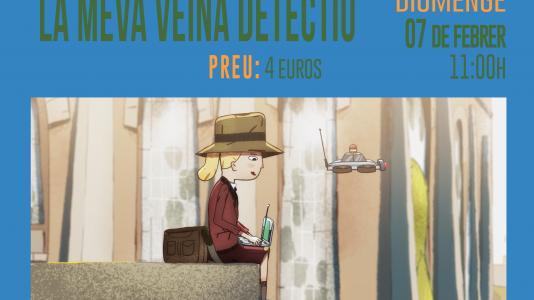 CineCiutatNins: Àgata, la meva veïna detectiu