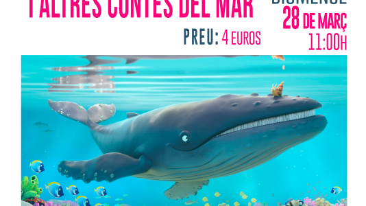 CineCiutatNins: El cargol i la balena