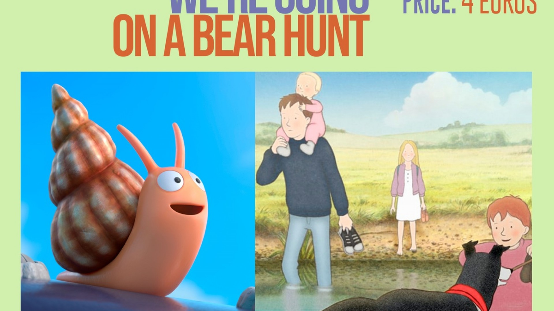 CineCiutatKids: Snale and the whale + We're going on a bear hunt
