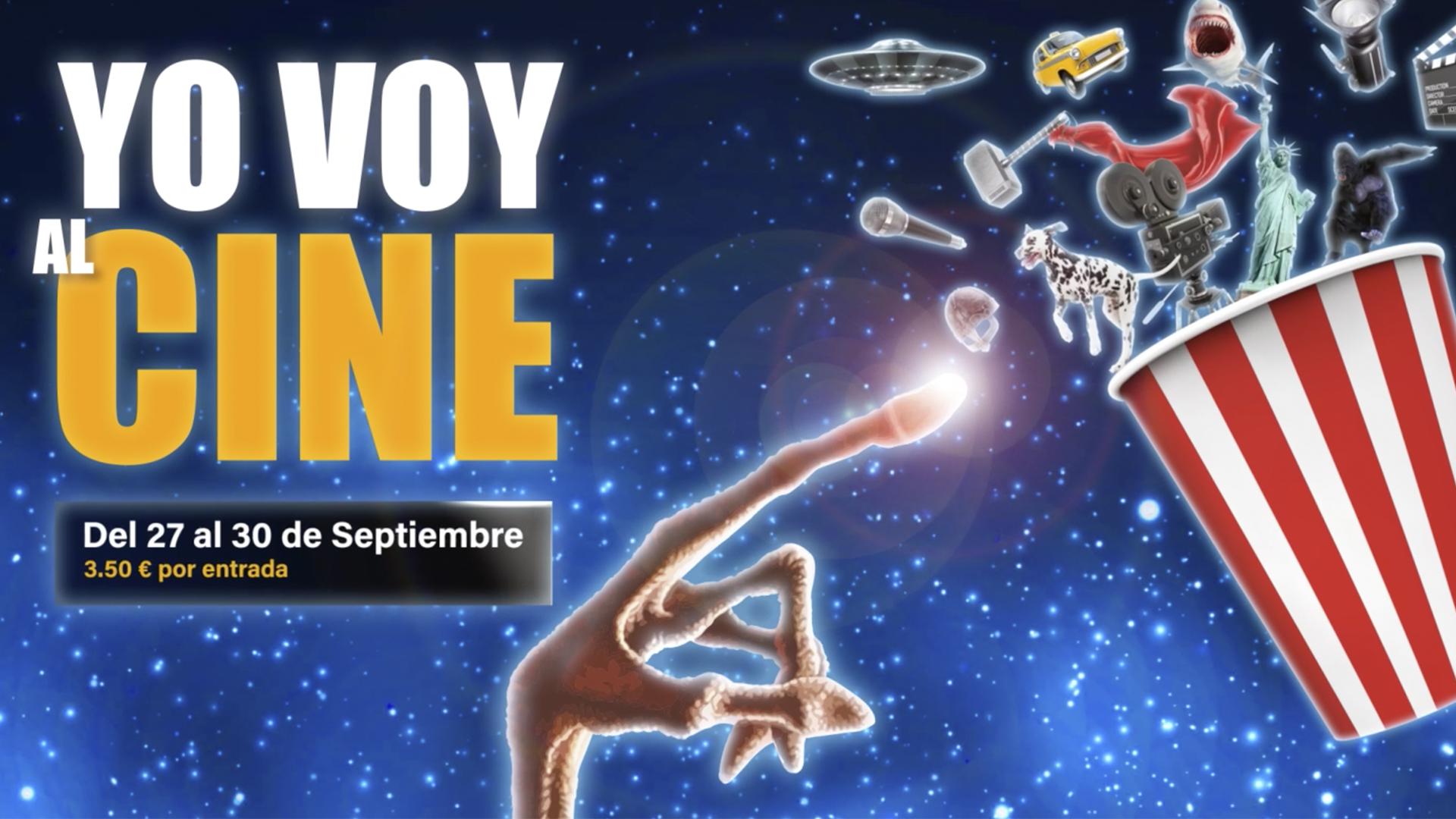 Yo Voy al Cine - 27 al 30 Septiembre